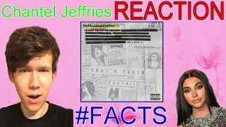 Chantel Jeffries   Facts Ft. YG, Rich The Kid & BIA REACTION