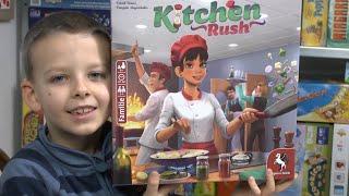 Kooperativ - spaßig und perfekt? Kitchen Rush Familienspiel - ab 8 Jahre (Pegasus Spiele)