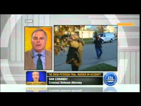 Dan Conaway on In Session #in July 26, 2012 discussing Drew Peterson with Ted Rowlands