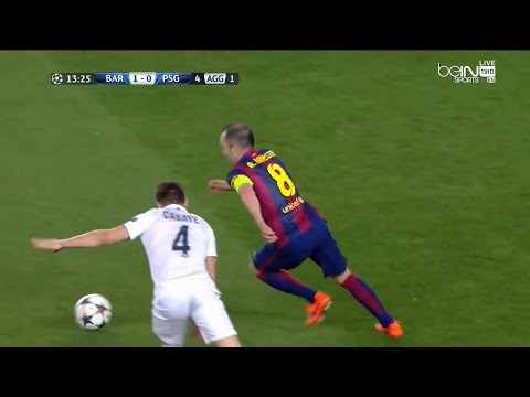 La exquisita jugada de Iniesta definida perfectamente por Neymar.