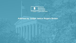 Click to play: Address by Judge Janice Rogers Brown