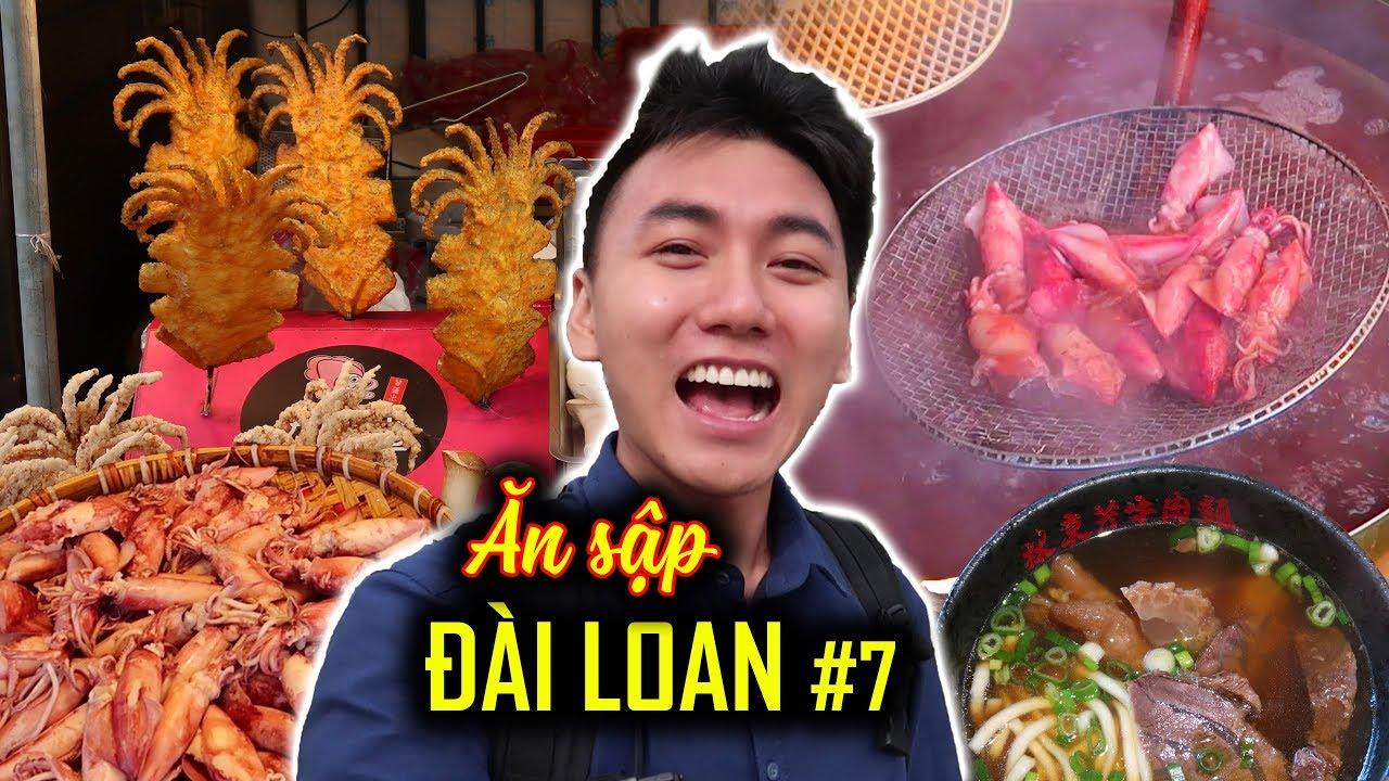 Ăn Sập Đài Loan #7: Phố biển Đạm Thủy P1 |Du lịch ẩm thực thumbnail
