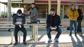 FPV Racing Phantom 2 Quadcopters!