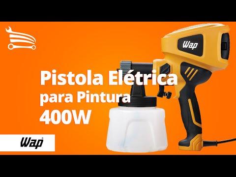 Pistola Elétrica para Pintura 400W  - Video
