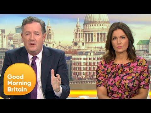 Piers and Susanna Praise London Bridge Attack Heroes | Good Morning Britain