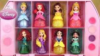 Disney Princess Makeup Set Coffret Maquillage Little Kingdom Nail Polish Vernis Brillant à Lèvres