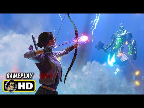 Marvel's AVENGERS (2020) Kate Bishop Gameplay Trailer [HD] Superhero Game