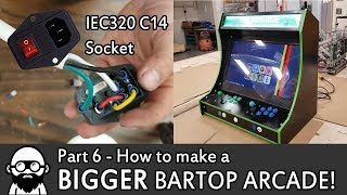 How To Make A DIY BIGGER Bartop Arcade! - Part 6 - Raspberry Pi