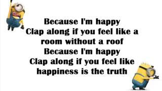 Pharrell Williams   Happy (Lyrics)