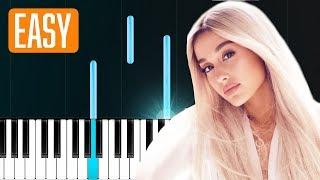 "Ariana Grande - ""God Is Woman""  100% EASY PIANO TUTORIAL"