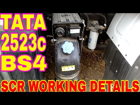 How To BS4 Tata 2523c SCR Working & Urea Sefty {Mechanic Gyan}