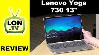 Lenovo Yoga 730 Review : 13 inch 2 in 1 Laptop / Tablet