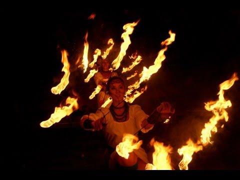 """Вогняне шоу """"DynamicART"""", відео 1"""