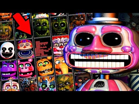 A NEVER BEFORE SEEN CHARACTER REVEALED.. | Five Nights at Freddys 6 ULTIMATE Custom Night