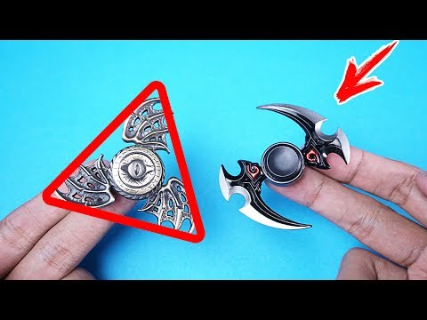 Video 8 FIDGET SPINNER UNIK & ANEH