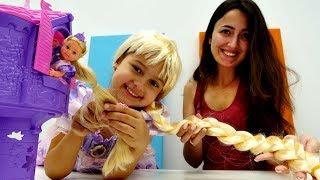 Ken Ve Rapunzeli Evlendiriyoruz Elbise Boyama Oyunu