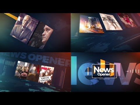 News Studio (Videohive After Effects Template) - смотреть