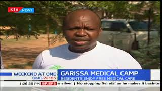 Garissa residents enjoy free medical care