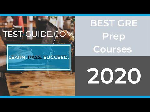 Best GRE Prep Courses - 2020 - YouTube