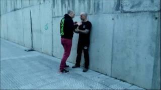 Gorka Ugarte – Defensa contra estrangulamiento frontal, agresor muy pegado