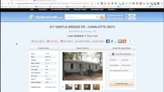 How to List a Rental Property with section 8