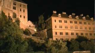 preview picture of video 'アキーラさんお薦め②チェコ・チェスキークルムロフ城Cesky-Krumlov-castle'