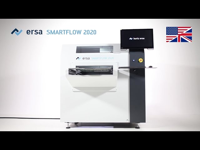 Selective Soldering Machine SMARTFLOW 2020. The new one from Ersa: compact without compromises, extremely smart!