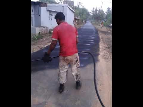 Trolley Mounted Bitumen Sprayer Cum Road Cleaner