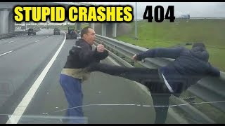 Stupid driving mistakes 404 (October 2019 English subtitles)