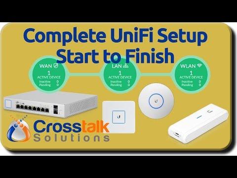 Complete UniFi Setup Start to Finish