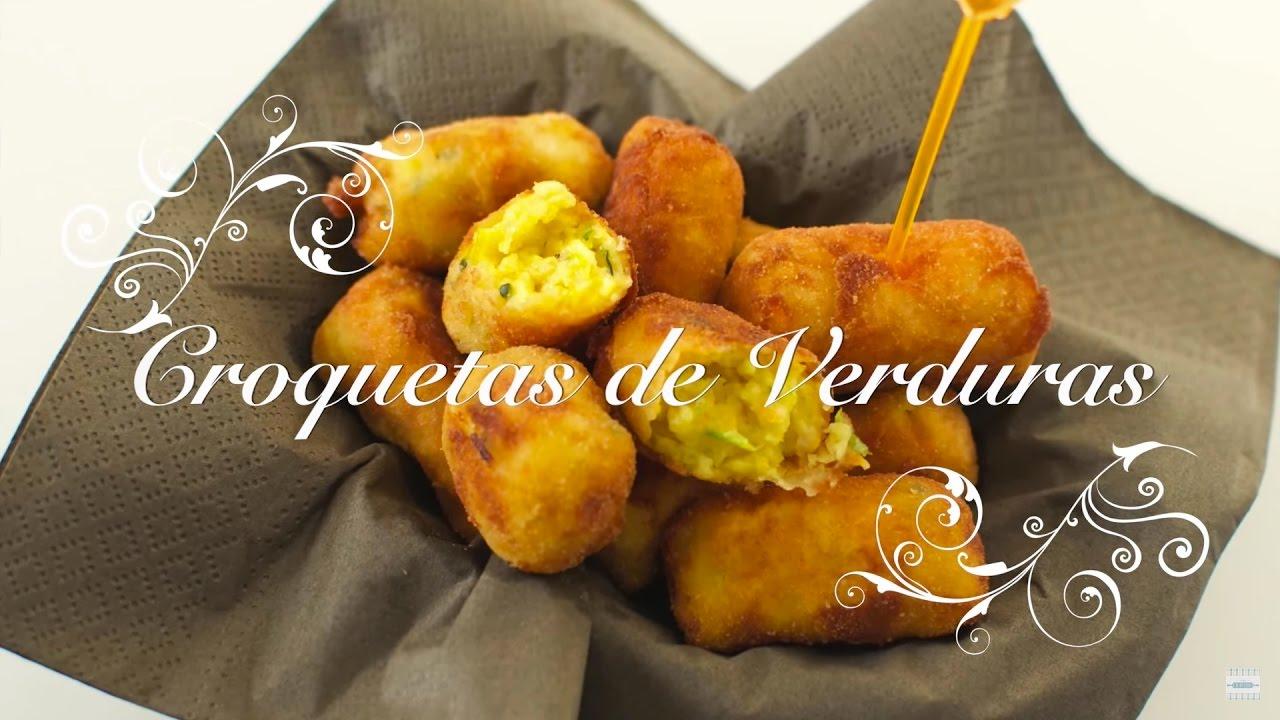 Croquetas de Verduras Caseras | Recetas con Verduras faciles | Recetas de Verduras chefdemicasa