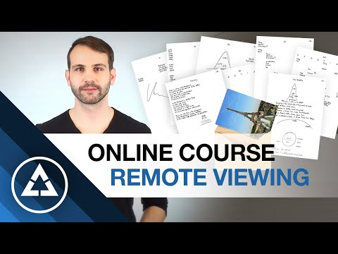 Online Course to learn Remote Viewing
