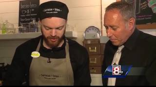baristas + bites offers curbside restaurant service - WMTW-TV article featuring our Lemon Thyme Roti