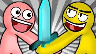 Youtuberların Komik Kavgası  | Stick Fight | Çöp Adam Savaşı