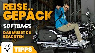 Motorrad Softgepäck - Gepäckrollen, Rucksäcke & Co.