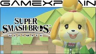 Isabelle Character Trailer - Super Smash Bros. Ultimate (+ Her Final Smash!)