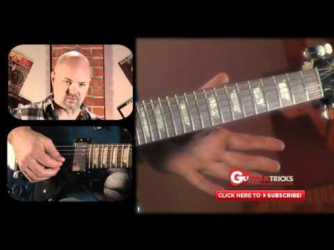 Alex Lifeson Style Lesson - Rock Guitar Lesson - Easy Guitar Lesson - Guitar Tricks 112