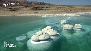 Two years time lapse photography of the Dead Sea. 2016-2018