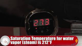 Superheated Steam - Boiling Point