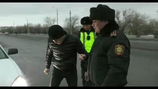 Экибастуз  Новости  Штраф почти 38 тысяч за переоборудование автомобиля  Рейд сотрудников ДПС, выявл