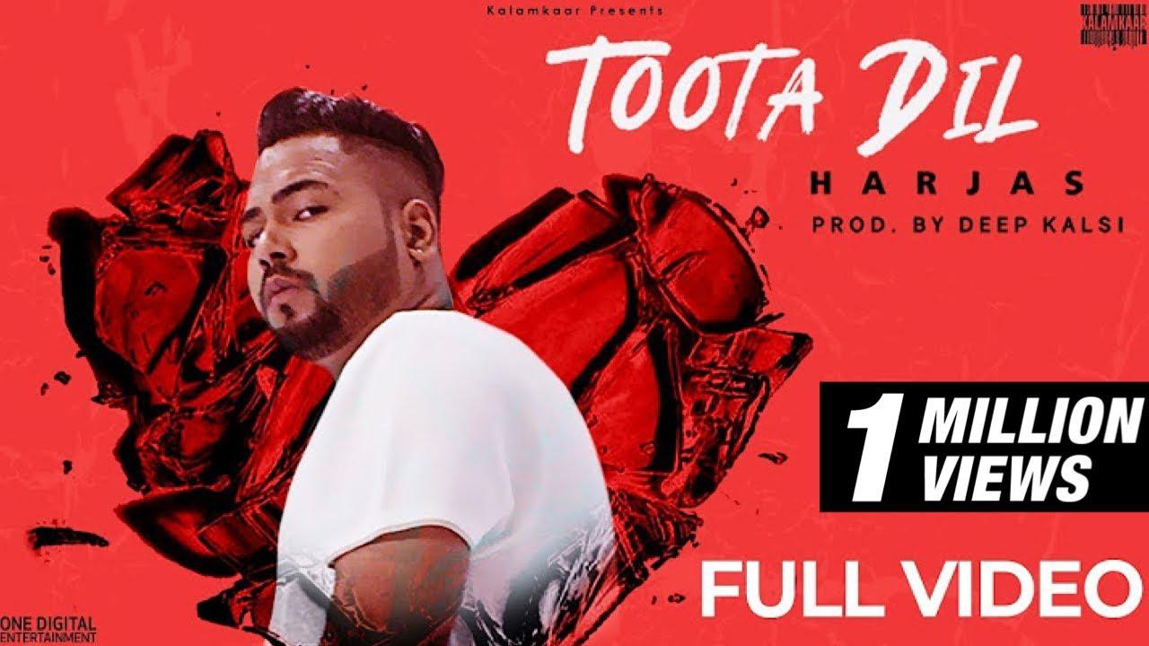 Toota Dil Lyrics - Harjas