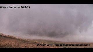 Too Close to the Wayne Nebraska Tornado, Window Blown Out October 4th 2013