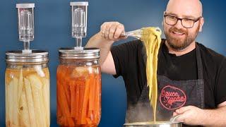 Fermenting POTATOES & CARROTS To Make VEGAN CHEESE BETTER!