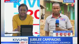 President Uhuru to lead his Jubilee brigade to Bumula and Kimilili constituencies in Bungoma