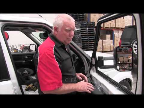 Clearview Towing Mirrors Installation Video: Land Rover Discovery 3 & 4