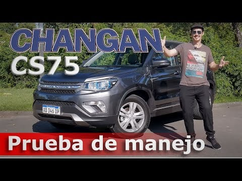 Test drive Changan CS75