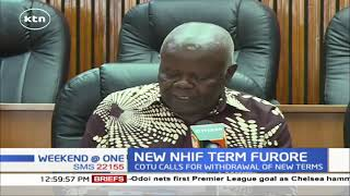 COTU says new NHIF regulations are punitive as latest move continues to create uproar