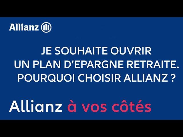 Plan Epargne Retraite Allianz