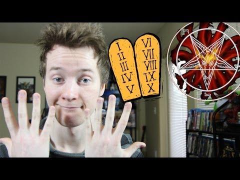 10 Commandments vs 9 Satanic Sins