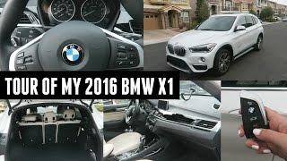 Car Tour of My 2016 BMW X1!